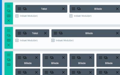 Miniguide til at redigere et website lavet med DIVI